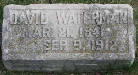 WATERMAN, DAVID - Dakota County, Nebraska | DAVID WATERMAN - Nebraska Gravestone Photos