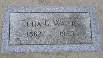 WATERS, JULIA C. - Dakota County, Nebraska   JULIA C. WATERS - Nebraska Gravestone Photos