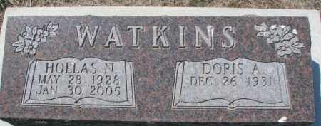 WATKINS, HOLLAS N. - Dakota County, Nebraska | HOLLAS N. WATKINS - Nebraska Gravestone Photos