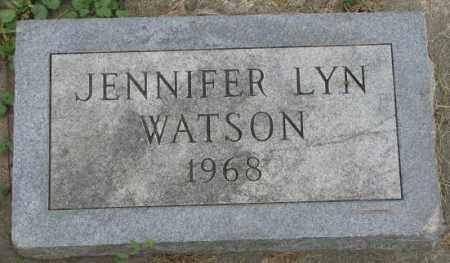 WATSON, JENNIFER LYN - Dakota County, Nebraska | JENNIFER LYN WATSON - Nebraska Gravestone Photos