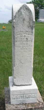 WHITEHORN, EMMA FRANCES - Dakota County, Nebraska   EMMA FRANCES WHITEHORN - Nebraska Gravestone Photos