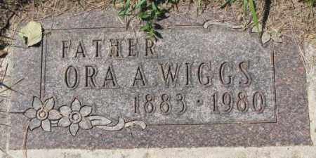WIGGS, ORA A. - Dakota County, Nebraska | ORA A. WIGGS - Nebraska Gravestone Photos
