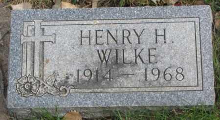 WILKE, HENRY H. - Dakota County, Nebraska | HENRY H. WILKE - Nebraska Gravestone Photos