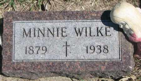 WILKE, MINNIE - Dakota County, Nebraska | MINNIE WILKE - Nebraska Gravestone Photos