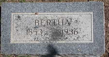 WILKINS, BERTHA - Dakota County, Nebraska | BERTHA WILKINS - Nebraska Gravestone Photos