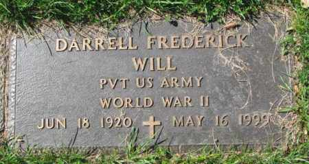 WILL, DARRELL FREDERICK - Dakota County, Nebraska   DARRELL FREDERICK WILL - Nebraska Gravestone Photos