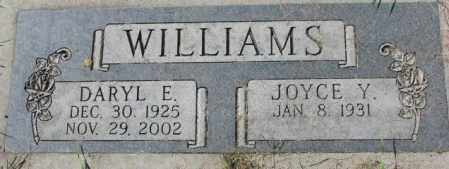 WILLIAMS, DARYL E. - Dakota County, Nebraska | DARYL E. WILLIAMS - Nebraska Gravestone Photos