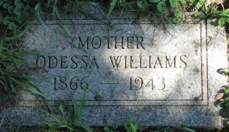 WILLIAMS, ODESSA - Dakota County, Nebraska   ODESSA WILLIAMS - Nebraska Gravestone Photos