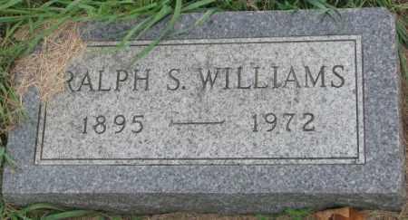 WILLIAMS, RALPH S. - Dakota County, Nebraska | RALPH S. WILLIAMS - Nebraska Gravestone Photos
