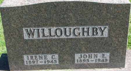WILLOUGHBY, IRENE C. - Dakota County, Nebraska   IRENE C. WILLOUGHBY - Nebraska Gravestone Photos