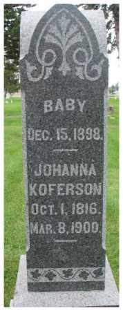 WILSON, BABY - Dakota County, Nebraska | BABY WILSON - Nebraska Gravestone Photos