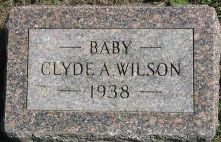 WILSON, CLYDE A. - Dakota County, Nebraska   CLYDE A. WILSON - Nebraska Gravestone Photos
