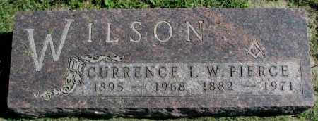 WILSON, CURRENCE L. - Dakota County, Nebraska   CURRENCE L. WILSON - Nebraska Gravestone Photos