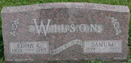 WILSON, SAMUEL - Dakota County, Nebraska | SAMUEL WILSON - Nebraska Gravestone Photos