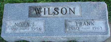 WILSON, NORA L. - Dakota County, Nebraska | NORA L. WILSON - Nebraska Gravestone Photos