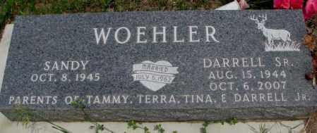WOEHLER, SANDY - Dakota County, Nebraska | SANDY WOEHLER - Nebraska Gravestone Photos