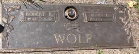 WOLF, MARY E. - Dakota County, Nebraska | MARY E. WOLF - Nebraska Gravestone Photos