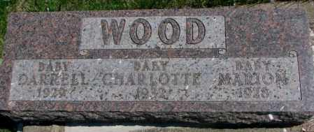 WOOD, CHARLOTTE - Dakota County, Nebraska | CHARLOTTE WOOD - Nebraska Gravestone Photos