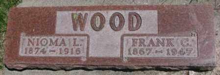 WOOD, NIOMA L. - Dakota County, Nebraska   NIOMA L. WOOD - Nebraska Gravestone Photos