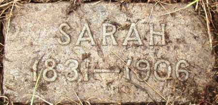 WOODS, SARAH - Dakota County, Nebraska | SARAH WOODS - Nebraska Gravestone Photos