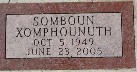 XOMPHOUNUTH, SOMBOUN - Dakota County, Nebraska | SOMBOUN XOMPHOUNUTH - Nebraska Gravestone Photos