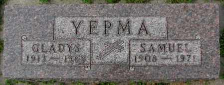 YEPMA, GLADYS - Dakota County, Nebraska   GLADYS YEPMA - Nebraska Gravestone Photos