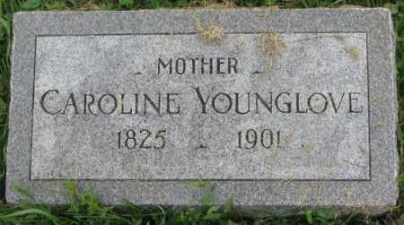 YOUNGLOVE, CAROLINE - Dakota County, Nebraska | CAROLINE YOUNGLOVE - Nebraska Gravestone Photos