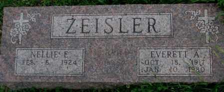 ZEISLER, NELLIE E. - Dakota County, Nebraska   NELLIE E. ZEISLER - Nebraska Gravestone Photos