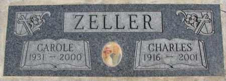 ZELLER, CAROLE - Dakota County, Nebraska | CAROLE ZELLER - Nebraska Gravestone Photos