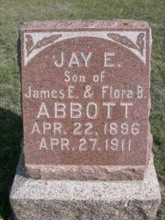 ABBOTT, JAY E. - Dawes County, Nebraska | JAY E. ABBOTT - Nebraska Gravestone Photos