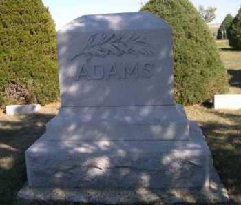 ADAMS, FAMILY - Dawes County, Nebraska   FAMILY ADAMS - Nebraska Gravestone Photos