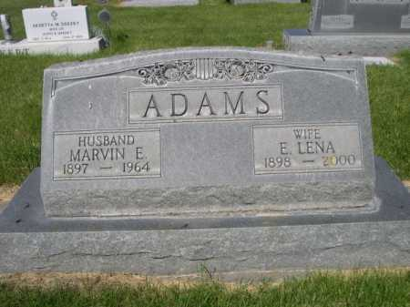 ADAMS, MARVIN E. - Dawes County, Nebraska | MARVIN E. ADAMS - Nebraska Gravestone Photos