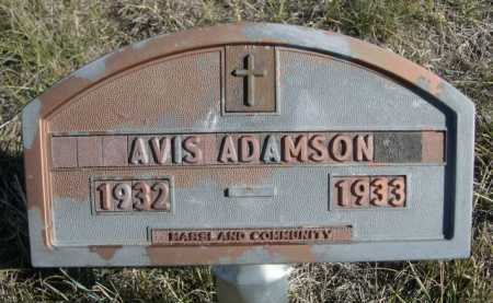 ADAMSON, AVIS - Dawes County, Nebraska   AVIS ADAMSON - Nebraska Gravestone Photos