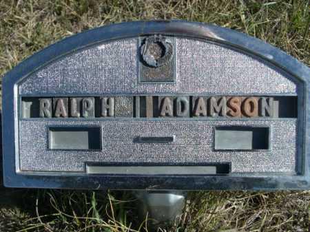 ADAMSON, RALPH - Dawes County, Nebraska | RALPH ADAMSON - Nebraska Gravestone Photos