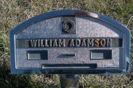 ADAMSON, WILLIAM - Dawes County, Nebraska | WILLIAM ADAMSON - Nebraska Gravestone Photos