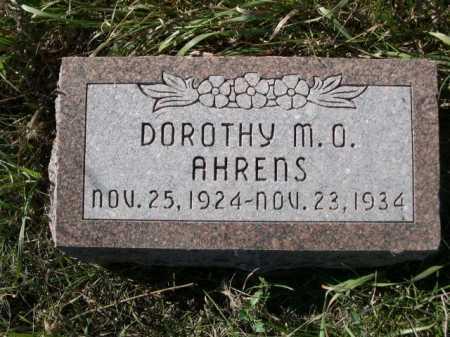 AHRENS, DOROTHY M. O. - Dawes County, Nebraska   DOROTHY M. O. AHRENS - Nebraska Gravestone Photos
