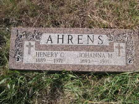 AHRENS, HENRY C. - Dawes County, Nebraska | HENRY C. AHRENS - Nebraska Gravestone Photos