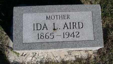 AIRD, IDA L. - Dawes County, Nebraska   IDA L. AIRD - Nebraska Gravestone Photos