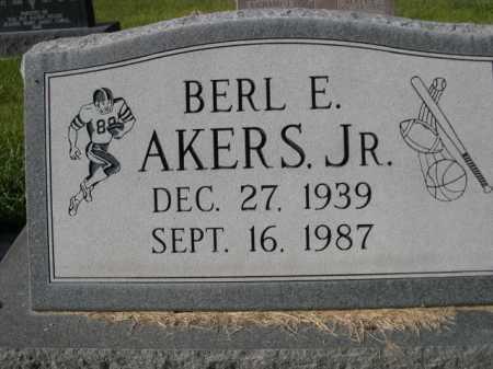 AKERS, BERL E. JR. - Dawes County, Nebraska | BERL E. JR. AKERS - Nebraska Gravestone Photos