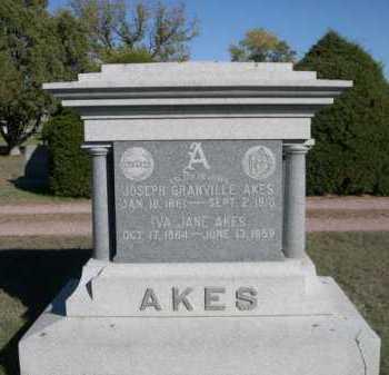 AKES, IVA JANE - Dawes County, Nebraska | IVA JANE AKES - Nebraska Gravestone Photos