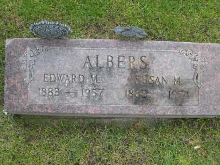 ALBERS, EDWARD M - Dawes County, Nebraska | EDWARD M ALBERS - Nebraska Gravestone Photos
