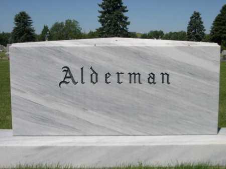 ALDERMAN, FAMILY - Dawes County, Nebraska | FAMILY ALDERMAN - Nebraska Gravestone Photos