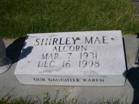 ALDERMAN, SHIRLEY MAE - Dawes County, Nebraska | SHIRLEY MAE ALDERMAN - Nebraska Gravestone Photos
