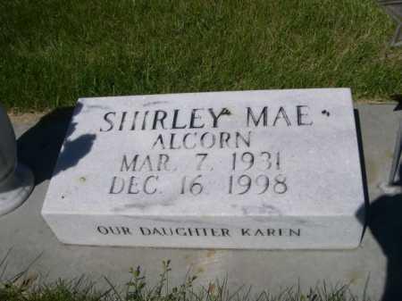 ALCORN ALDERMAN, SHIRLEY MAE - Dawes County, Nebraska | SHIRLEY MAE ALCORN ALDERMAN - Nebraska Gravestone Photos