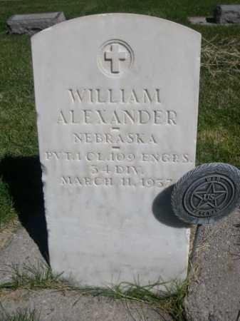 ALEXANDER, WILLIAM - Dawes County, Nebraska   WILLIAM ALEXANDER - Nebraska Gravestone Photos
