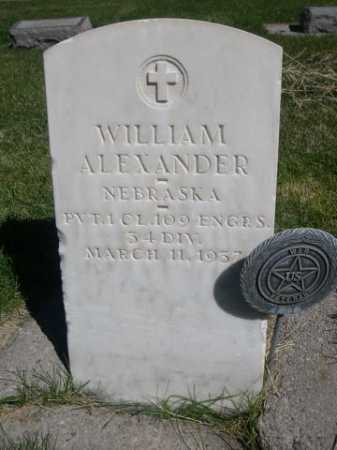 ALEXANDER, WILLIAM - Dawes County, Nebraska | WILLIAM ALEXANDER - Nebraska Gravestone Photos