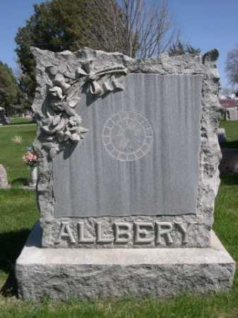 ALLBERY, FAMILY - Dawes County, Nebraska   FAMILY ALLBERY - Nebraska Gravestone Photos