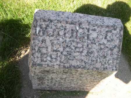 ALLBERY, MAUDE C. - Dawes County, Nebraska | MAUDE C. ALLBERY - Nebraska Gravestone Photos