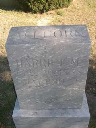 ALLCORN, HARRIET M. - Dawes County, Nebraska | HARRIET M. ALLCORN - Nebraska Gravestone Photos