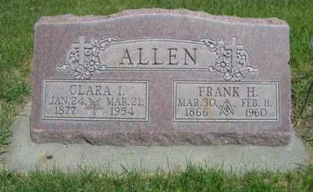 ALLEN, FRANK H. - Dawes County, Nebraska   FRANK H. ALLEN - Nebraska Gravestone Photos